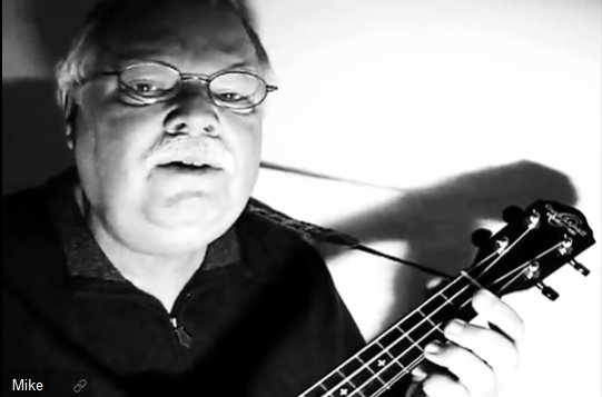 Ukulele Mike plays Imagine in John Lennon tribute